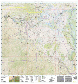 Southern Sudan States 1:500,000