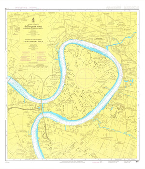 Thailand Nautical Chart: #111: Krung Thep