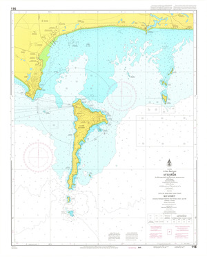 Thailand Nautical Chart: #116: Ko Samet