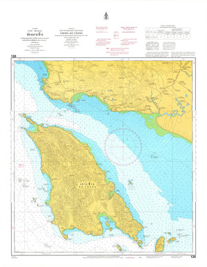 Thailand Nautical Chart: #120: Chong Ko Chang