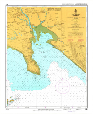 Thailand Nautical Chart: #121: Ao Trat
