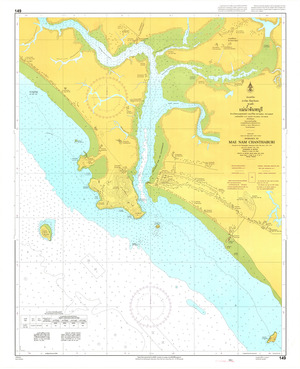 Thailand Nautical Chart: #149