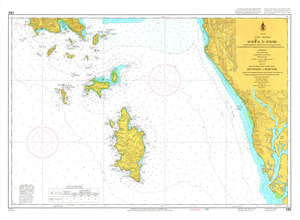 Thailand Nautical Chart: #151
