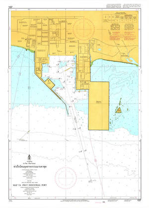 Thailand Nautical Chart: #157