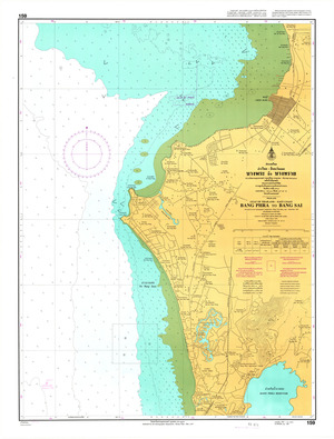 Thailand Nautical Chart: #159