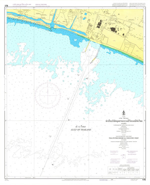 Thailand Nautical Chart: #170