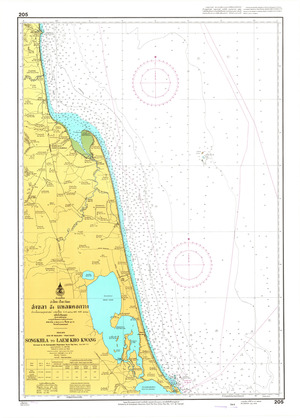 Thailand Nautical Chart: #205