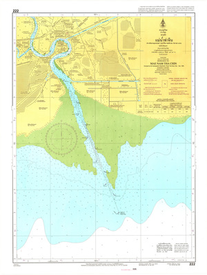 Thailand Nautical Chart: #222
