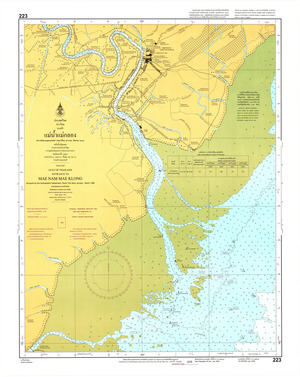 Thailand Nautical Chart: #223
