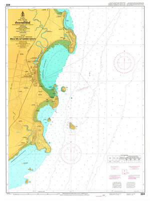 Thailand Nautical Chart: #224