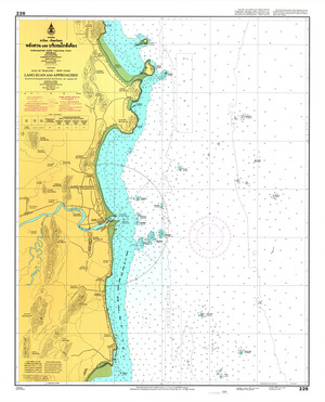 Thailand Nautical Chart: #226