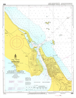 Thailand Nautical Chart: #229
