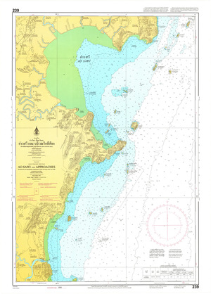 Thailand Nautical Chart: #239