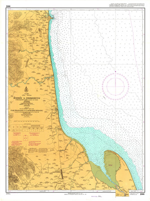 Thailand Nautical Chart: #244