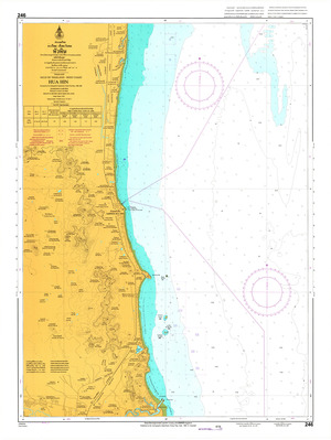 Thailand Nautical Chart: #246