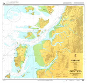 Thailand Nautical Chart: #331: Ranong Entrance