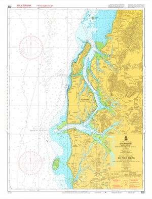 Thailand Nautical Chart: #332: Ko Phra Thong