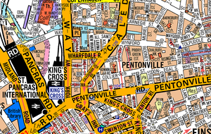 Great Britain A-Z Street Map