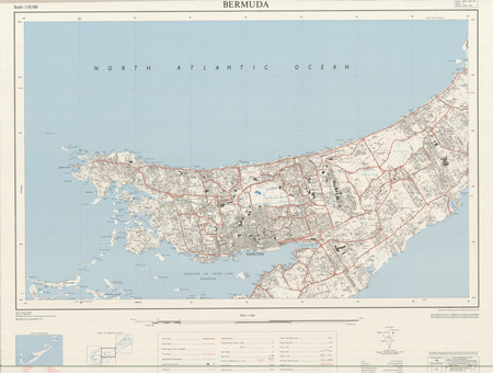 Bermuda #3 - $20.00 : Charts and Maps, ONC and TPC Charts to ... on