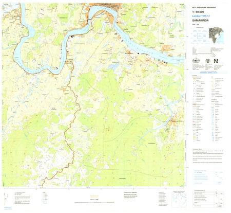 Indonesia Kalimantan #1915-013: Samarinda - $20.00 : Charts and Maps ...