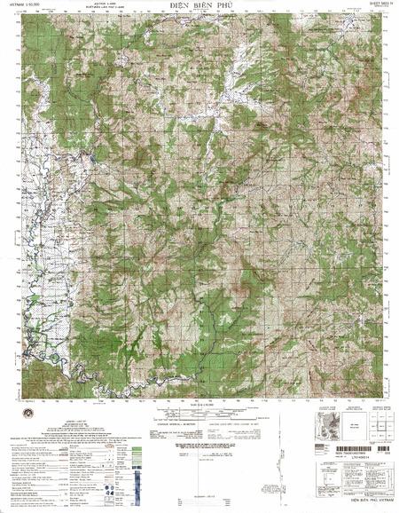 Dien Bien Phu Vietnam Map.Vietnam 5651 4 Dien Bien Phu 20 00 Charts And Maps Onc And