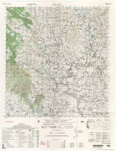Vietnam #6151-1: Pho Yen - $20 00 : Charts and Maps, ONC and