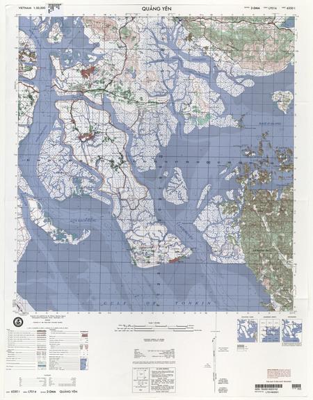 Vietnam #6350-1: Quang Yen - $20 00 : Charts and Maps, ONC