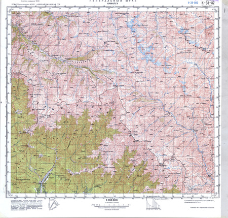 Azerbaijan #K-38-082 - $20.00 : Charts and Maps, ONC and TPC ... on topographic map of the balkans, topographic map of arctic ocean, topographic map of guinea, topographic map of easter island, topographic map of fiji islands, topographic map of united states of america, topographic map of mali, topographic map of the cayman islands, topographic map of serbia, topographic map of algeria, topographic map of antigua, topographic map of the united kingdom, topographic map of bulgaria, topographic map of grenada, topographic map of zambia, topographic map of galapagos islands, topographic map of tahiti, topographic map of united arab emirates, topographic map of suriname, topographic map of latvia,