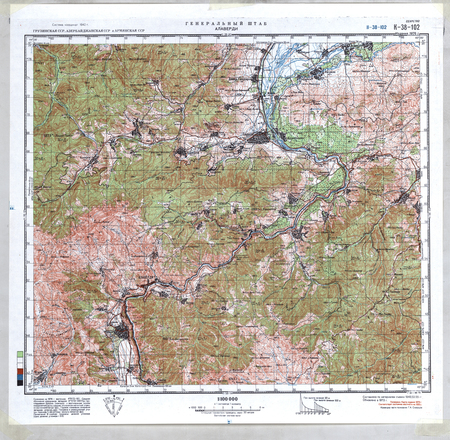 Azerbaijan #K-38-102 - $20.00 : Charts and Maps, ONC and TPC ... on topographic map of the balkans, topographic map of arctic ocean, topographic map of guinea, topographic map of easter island, topographic map of fiji islands, topographic map of united states of america, topographic map of mali, topographic map of the cayman islands, topographic map of serbia, topographic map of algeria, topographic map of antigua, topographic map of the united kingdom, topographic map of bulgaria, topographic map of grenada, topographic map of zambia, topographic map of galapagos islands, topographic map of tahiti, topographic map of united arab emirates, topographic map of suriname, topographic map of latvia,